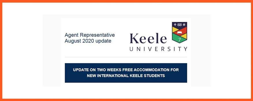 Study UK: Keele University Free Two Weeks Accommodation